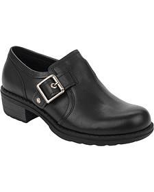 Eastland Women's Black Open Road Slip-Ons