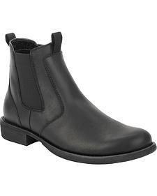 Eastland Women's Black Double Up Jodhpur Boot