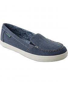 Eastland Women's Blue Denim Lucy Slip-Ons