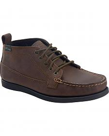 Eastland Men's Bomber Brown Seneca Camp Moc Chukka Boots