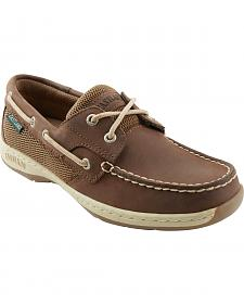 Eastland Women's Bomber Brown Solstice Boat Shoe Oxfords
