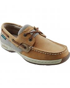 Eastland Women's Tan Solstice Boat Shoe Oxfords