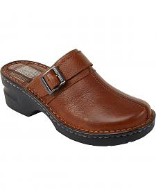 Eastland Women's Tan Mae Clogs