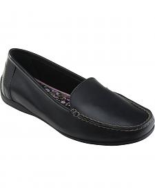 Eastland Women's Black Crystal Slip-On Loafers