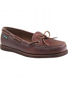 Eastland Women's Brown Yarmouth Camp Moc Slip-Ons