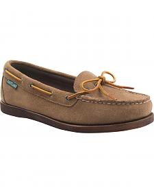 Eastland Women's Khaki Suede Yarmouth Camp Moc Slip-Ons