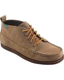 Eastland Men's Khaki Suede Seneca Camp Moc Chukka Boots