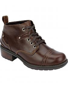 Eastland Women's Brown Overdrive Ankle Boots