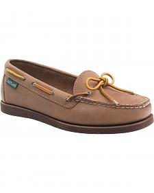 Eastland Women's Natural Yarmouth Camp Moc Slip-Ons