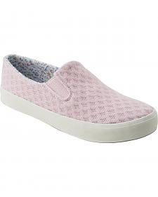 Eastland Women's Pink Breezy Slip-On Sneakers