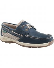 Eastland Women's Navy Solstice Boat Shoe Oxfords