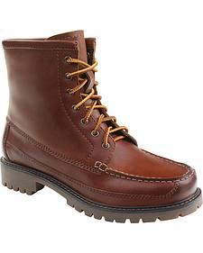 Eastland Women's Pecan Charlotte Moc Toe Boots