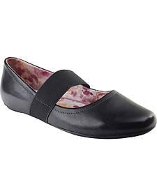 Eastland Women's Black Sable Mary Jane Slip-On Shoes