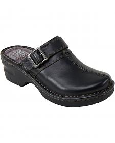 Eastland Women's Black Mae Clogs
