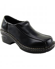 Eastland Women's Black Tracie Slip-Ons