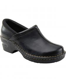 Eastland Women's Black Kelsey Slip On Clogs