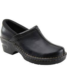 Eastland Women's Black Kelsey Slip On Clogs