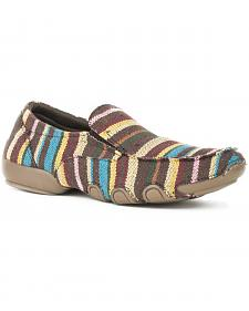 Roper Women's Liza Striped Driving Mocs