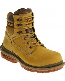 "Caterpillar Men's Fabricate 6"" Waterproof Work Boots - Composite Toe"