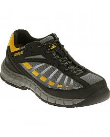 Caterpillar Men's Infrastructure Grey Work Shoes - Steel Toe