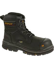 """Caterpillar Men's Rasp 6"""" Waterproof Work Boots - Composite Toe"""