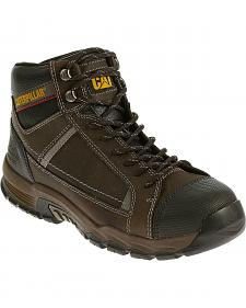 Caterpillar Men's Black Regulator Work Boots