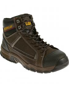Caterpillar Men's Brown Regulator Work Boots - Steel Toe