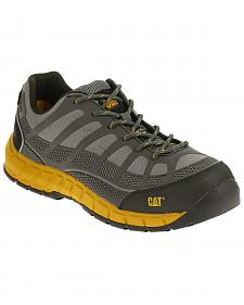 Caterpillar Men's Grey Streamline ESD Work Shoes - Composite Toe
