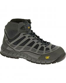Caterpillar Men's Dark Grey Streamline Mid Work Boots - Composite Toe