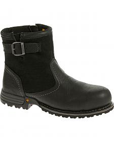 Caterpillar Women's Black Jace Waterproof Work Boots - Steel Toe