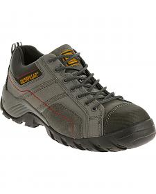 Caterpillar Men's Dark Grey Argon Work Shoes - Composite Toe