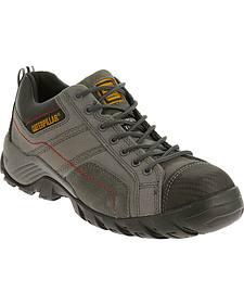 Caterpillar Men's Dark Grey Argon Work Shoes - Composite Toe