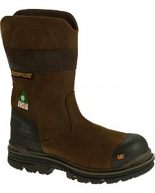 Caterpillar Men's Bolted Waterproof Work Boots - Composite Toe