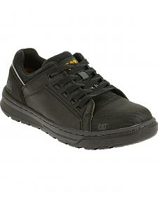 Caterpillar Men's Black Concave Lo Work Shoes - Steel Toe