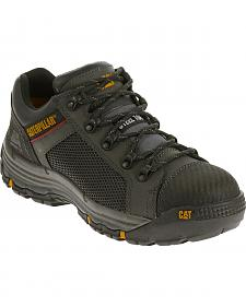 Caterpillar Men's Black Convex Lo Work Shoes - Steel Toe