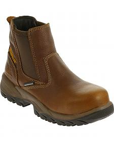 Caterpillar Women's Veneer Waterproof Work Boots - Composite Toe