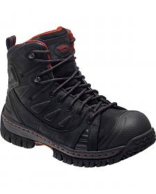 Avenger Men's Waterproof Hiker Work Boots - Steel Toe