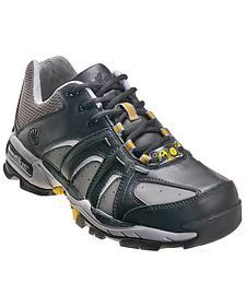 Nautilus Men's Black ESD Athletic Work Shoes - Steel Toe