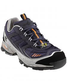 Nautilus Women's Blue ESD Athletic Work Shoes - Steel Toe