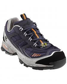 Nautilus Men's Blue ESD Athletic Work Shoes - Steel Toe