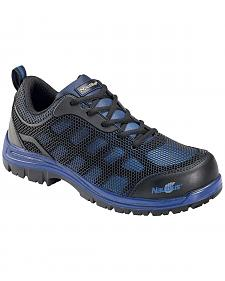 Nautilus Men's Blue Athletic Work Shoes - Composite Toe