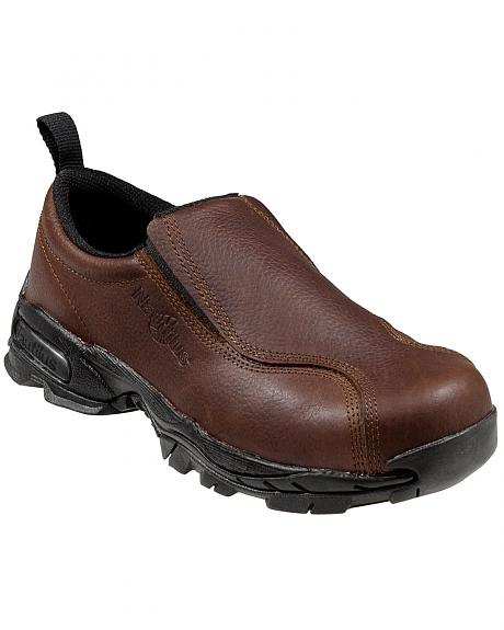 Nautilus Women's ESD Slip-On Work Shoes - Steel Toe