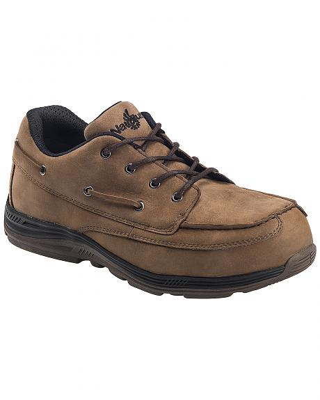 Nautilus Men's Brown EH Carbon Nanofiber Casual Work Shoes - Composite Toe