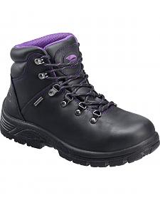 Avenger Women's Waterproof Hiker Work Boots - Steel Toe