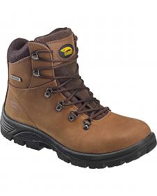 "Avenger Men's Waterproof 6"" Lace-Up Work Boots - Steel Toe"