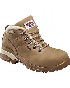 Avenger Women's Waterproof Hiker Work Boots - Composite Toe