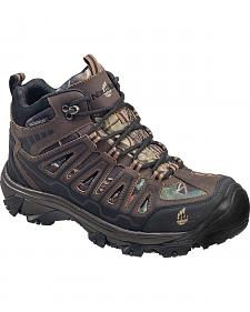 Nautilus Men's Camo Waterproof HIker Work Boots - Steel Toe