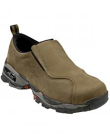 Nautilus Men's Moss ESD Slip-On Work Shoes - Steel Toe