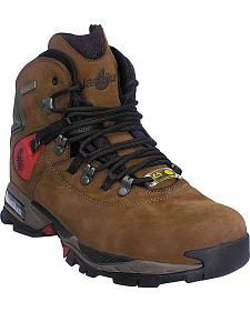 "Men's Nautilus 6"" Moss Waterproof Work Boots - Steel Toe"
