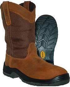 Itasca Men's Python Waterproof Pull-On Work Boots - Steel Toe